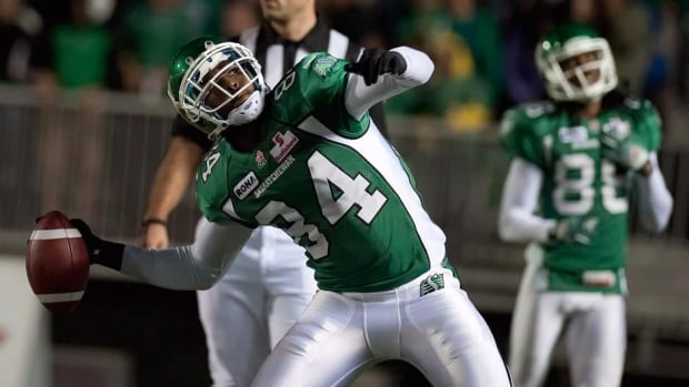 Wide receiver Greg Carr had 377 receiving yards and two touchdowns on 34 receptions in 14 games with Edmonton and Saskatchewan last season.