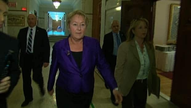Premier Pauline Marois cautioned the Charbonneau inquiry to exercise prudence.