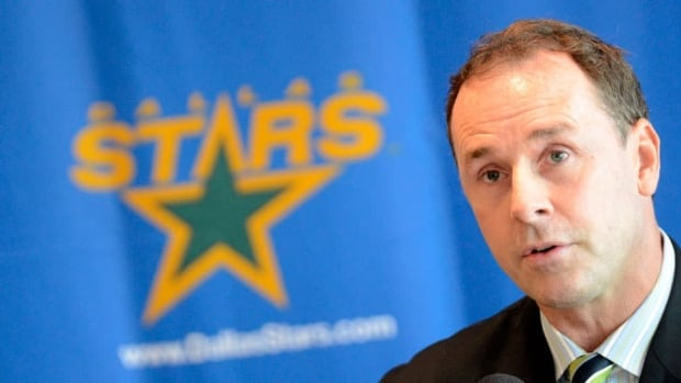 Joe Nieuwendyk, shown in this 2011 file photo, was named Dalls Stars general manager in May of 2009.