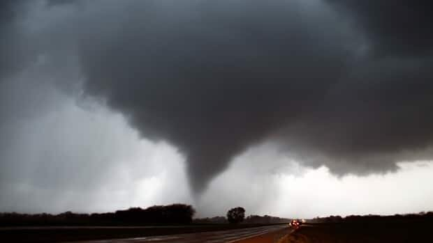 Meteorological experts say the area of the U.S. known as 'Tornado Alley' stretches from Texas to as far north as Minnesota.