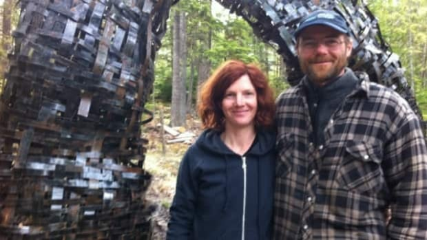 Kate and Jeff Tupper-England have struggled to find consistent work in and around Nakusp.