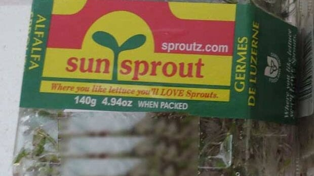 The Sunsprout and SproutsAlive brand alfalfa sprouts have been recalled.
