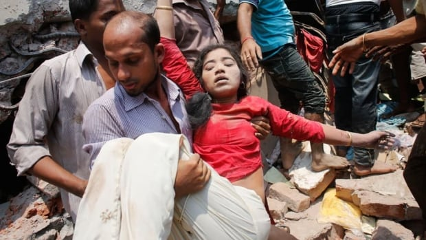 The collapse of a garment building in Dhaka, Bangladesh, on April 24 has raised concern about the safety of those who produce clothing for western retailers such as Wal-mart, Sears and Canada's Joe Fresh.