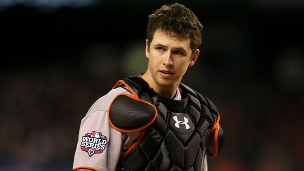 Buster Posey had .336 batting average, 24 home runs and 103 RBIs for the World Series champion San Francisco Giants.
