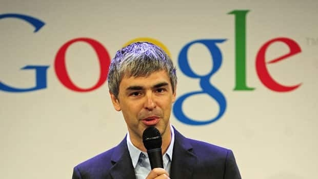 The rise in Google's share price is seen as an endorsement of co-founder Larry Page's leadership.