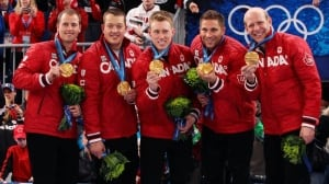 Adam Enright, Ben Hebert, Marc Kennedy, John Morris and Kevin Martin won Olympic gold in Vancouver, one of several major wins for the team, formed in 2006.
