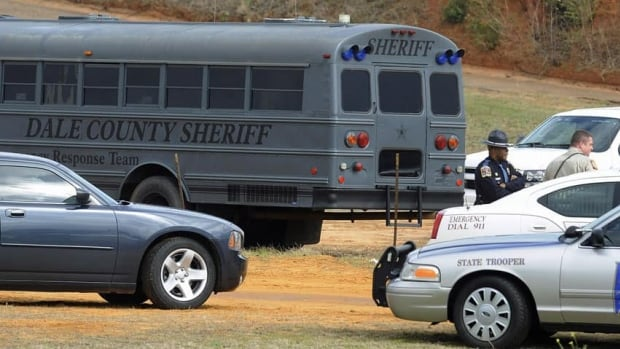 Authorities in Alabama stormed an underground bunker on Monday killing a 65-year-old man who had abducted a child from a school bus after fatally shooting the driver on Jan. 29.
