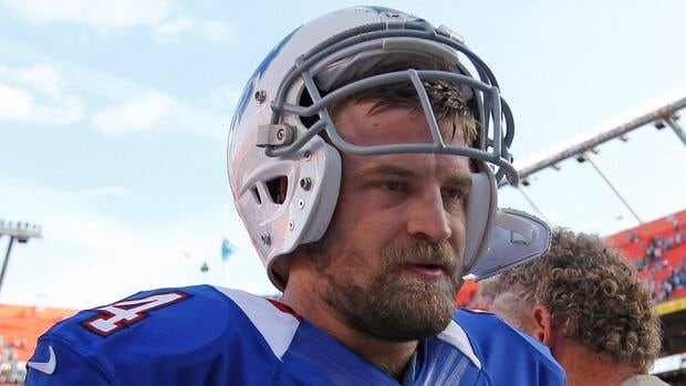 Ryan Fitzpatrick was released by the Buffalo Bills on Tuesday.