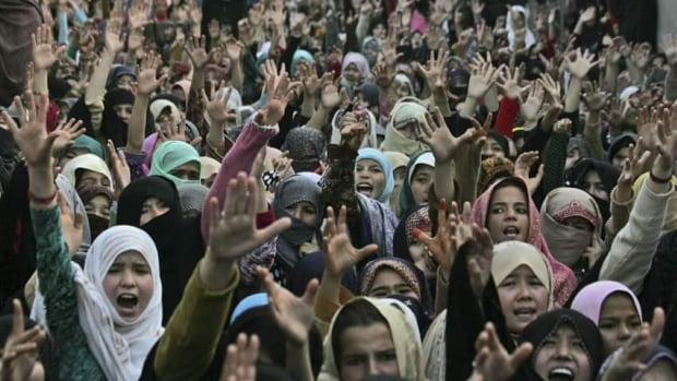 Pakistani Shia Muslim women shout slogans during a protest to condemn Saturday's bombing in Quetta. The violence touched a chord among Pakistanis throughout in the country.
