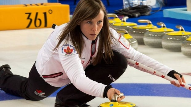 Canada's skip Rachel Homan, shown in this file photo, lifted her team past the Americans in the 3v4 Page playoff game on Saturday in Riga, Latvia.