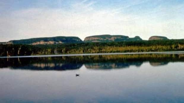 The emergency access road to Thunder Bay's Sleeping Giant Provincial Park was also washed out, stranding campers and staff.