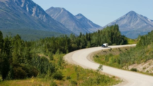 The US government has provided more than $400 million over the past 30 years to reconstruct and pave the Alaska Highway.