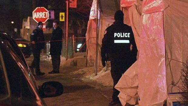 A witness called police after hearing gunshots Thursday evening.