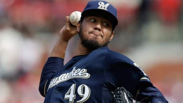 Milwaukee Brewers starting pitcher Yovani Gallardo, seen in his last start on April 13, acknowledged to police he had been drinking.