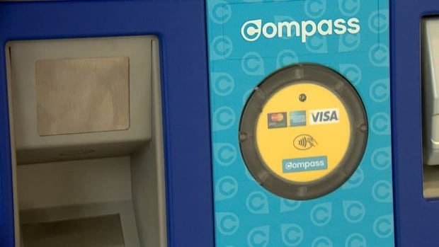 """On the face of it, there is nothing to stop someone using the Compass Card from """"tapping in"""" and """"tapping out"""" for a single zone, while riding the bus or SkyTrain through multiple zones. TransLink says anyone caught cheating faces a $173 fine."""
