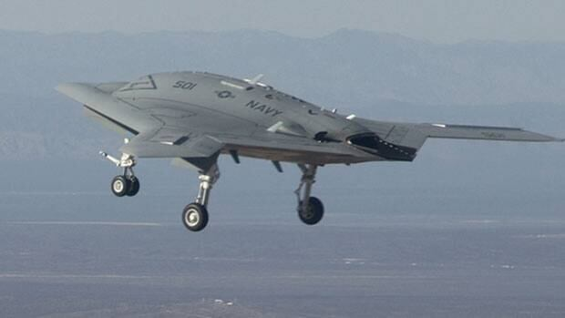 The U.S. Navy's X-47B prototype is among the 'lethal autonomous robotics' named in a new draft UN report.