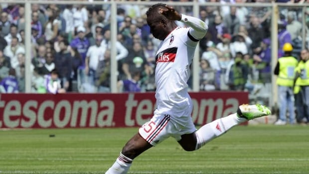 The Rossoneri remain unbeaten in the Italian league since Mario Balotelli's arrival in January.