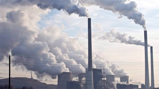 A coal-burning power plant in Geisenkirchen, Germany, emits steam and smoke in this file photo from 2009.