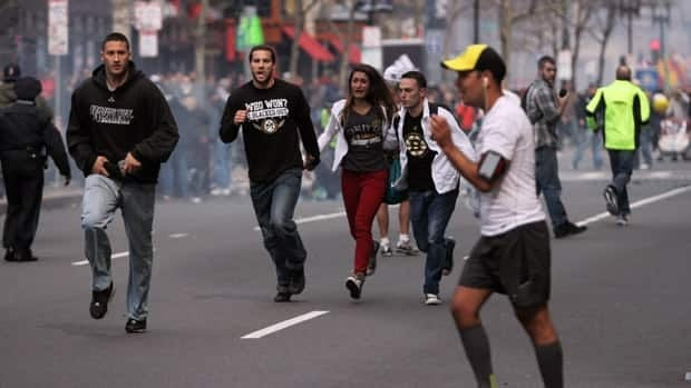 Hundreds of Canadians participated in the Boston Marathon, where a pair of bombs exploded near the finish line on April 15, 2013. Dozens of people were injured and least two people were killed.