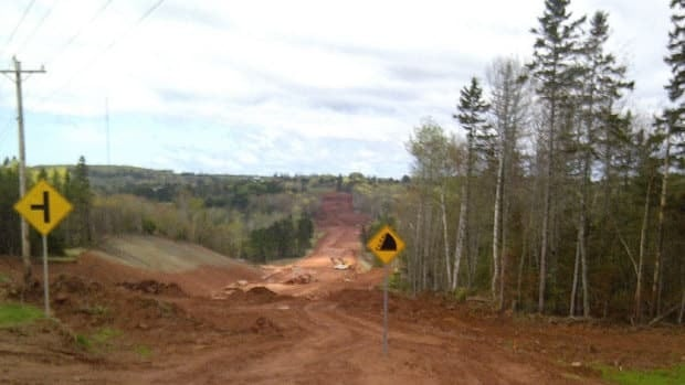 The lands around the Trans-Canada Highway construction project should be protected, says a committee asked to report on potential uses for the land.
