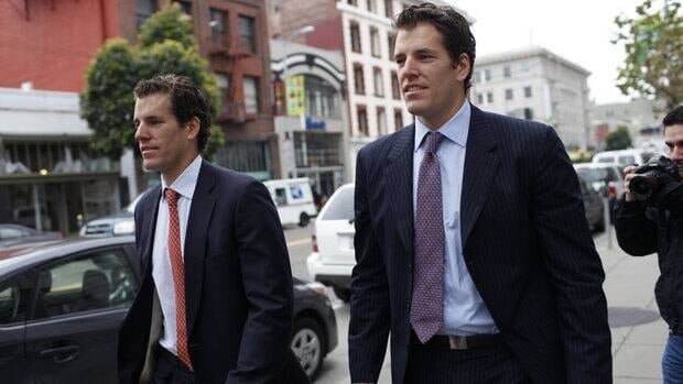Cameron Winklevoss, left, and brother Tyler are known primarily for their dispute with Mark Zuckerberg over who founded Facebook but have made headlines this week for their proposal to sell public shares in a digital-currency-based exchange-traded fund.