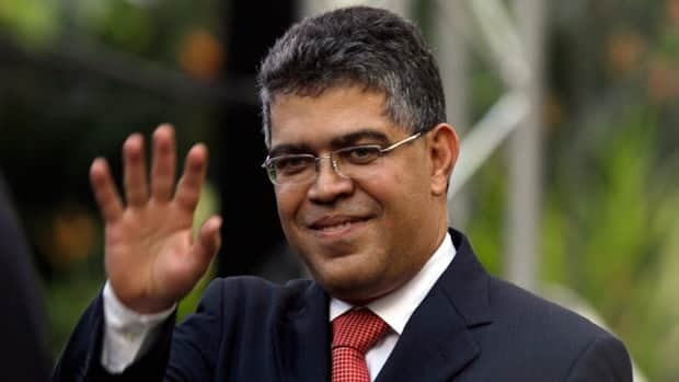 Venezuela's Foreign Minister Elias Jaua met with a top Colombian diplomat today as Colombia's government and leftist rebels continued peace talks.