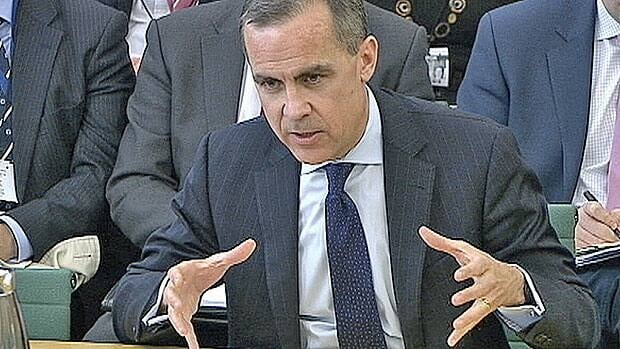 Well, it could be like this, Bank of Canada Governor Mark Carney tells British MPs at a committee hearing in London on Thursday.