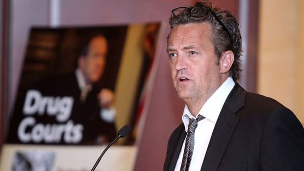 Actor Matthew Perry, seen speaking at the U.S. Capitol on May 6, has turned his former Malibu home into a sober-living residence for one-time addicts transitioning from rehab back to the real world.