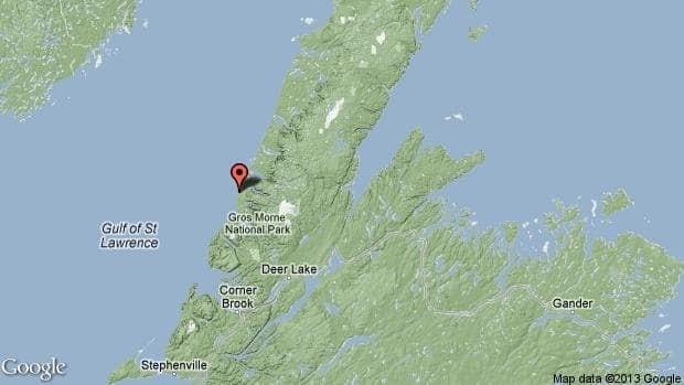Gros Morne National Park is on Newfoundland's west coast.
