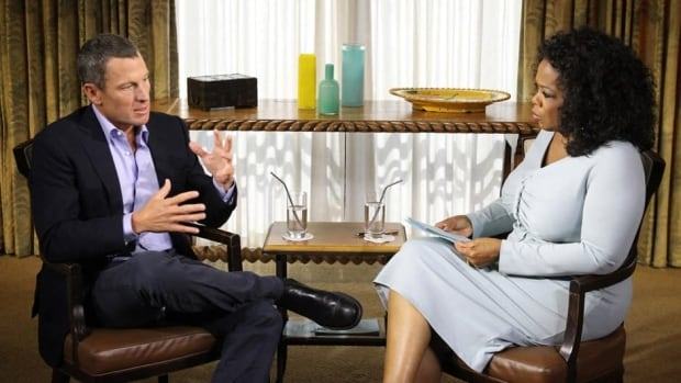 Lance Armstrong, left, admitted to doping during an interview with Oprah Winfrey, right, on Thursday night.