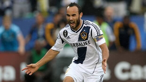 Donovan has a team-record 92 goals during eight seasons with the Galaxy, who have won the last two Major League Soccer titles.