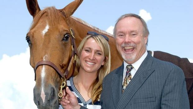 Karen Sparks, her father Terry Matthews and Quervo: the father-daughter duo plan to revitalize the Nepean National Equestrian Park and lure top-flight show jumping to Ottawa.