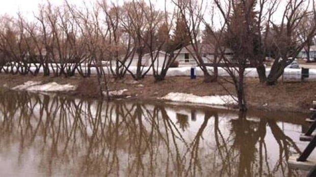 The City of Regina has been sandbagging along Wascana Creek in anticipation of rising water levels.