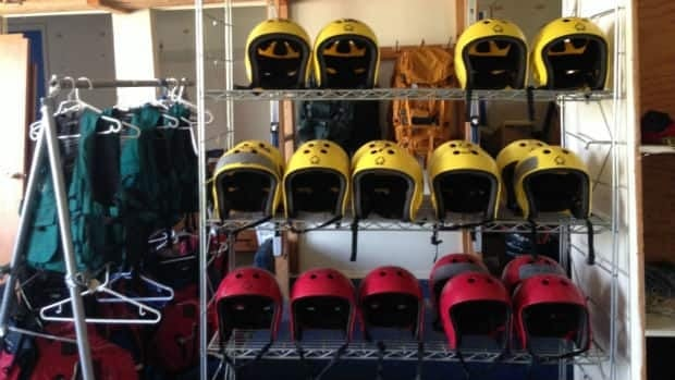 Some of the gear available for rent with the Laurentian University Outdoor Centre.