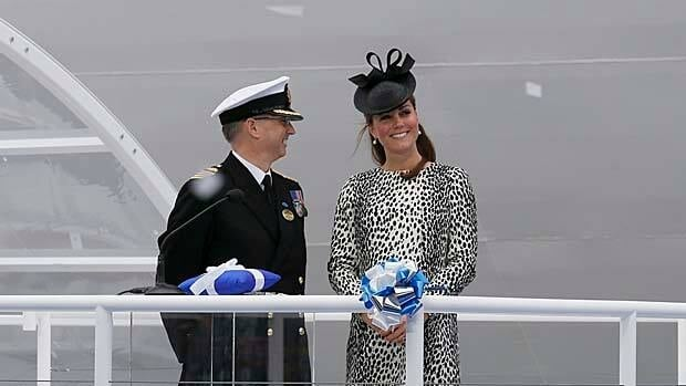 In an event billed as the final public appearance of her pregnancy, Catherine, Duchess of Cambridge, christened the 'Royal Princess' cruise ship in Southampton earlier this month.  Changes to the rules for the royal line of succession will apply to Prince William and Catherine's children.