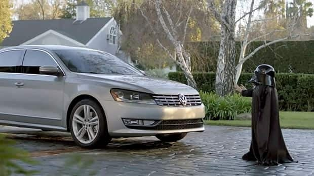 U.S. ads, like this popular Volkswagon one, are often not seen on Canadian broadcasts of the Super Bowl.
