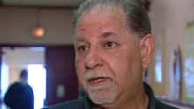 Allen Benson is concerned about the future of the Stan Daniels Healing Centre