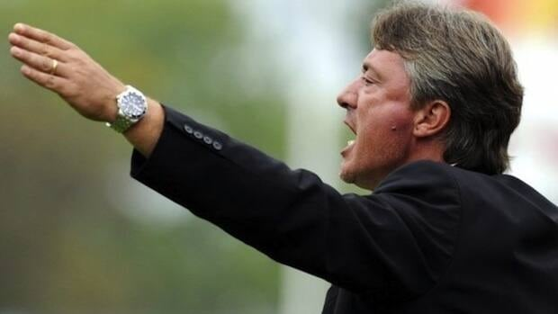New head coach of Impact said he was very pleased and proud to lead the Montreal soccer team.