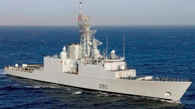 The sailor was airlifted from the HMCS Iroquois at around 6 p.m. Tuesday evening. The helicopter landed at Shearwater and the sailor was transported to hospital.