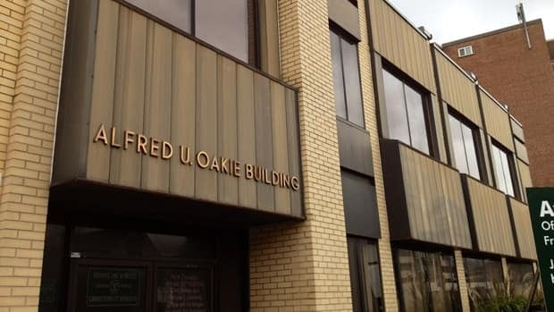The building they named after Al Oakie, head of the Hamilton Automobile Club, awaits a new life.