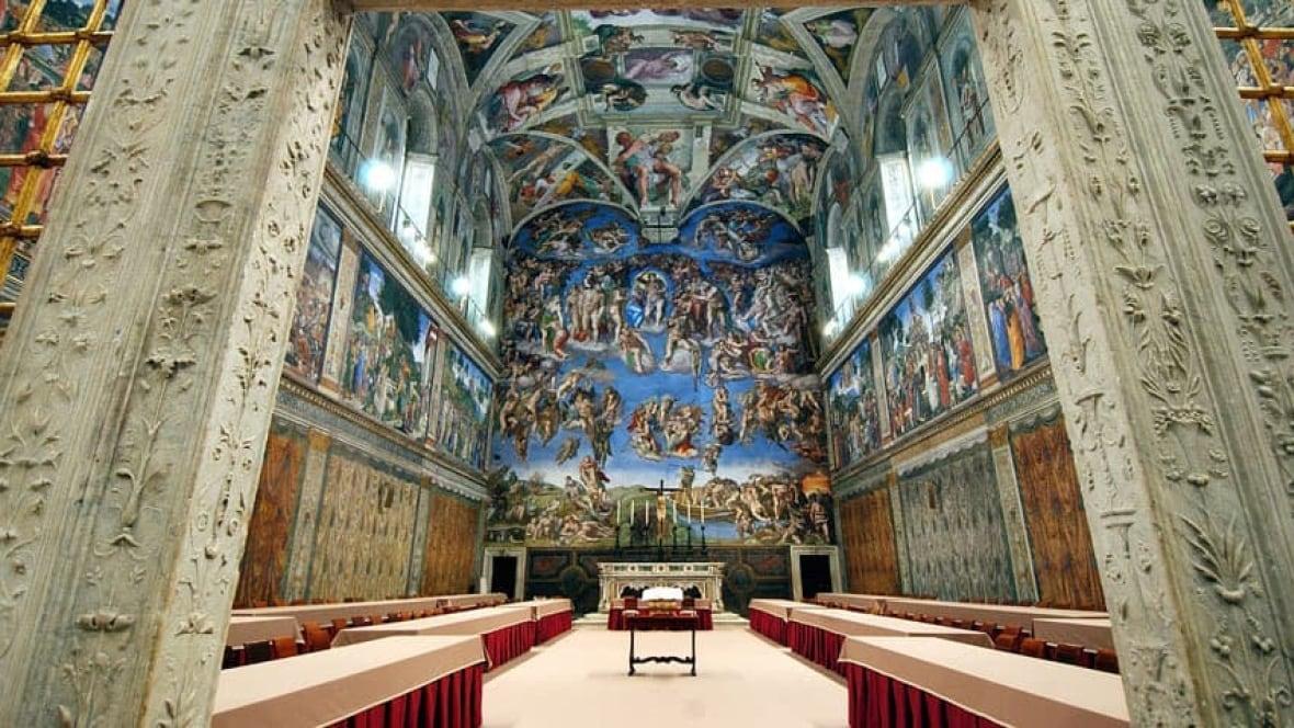 Peter Mansbridge Inside The Sistine Chapel World Cbc News