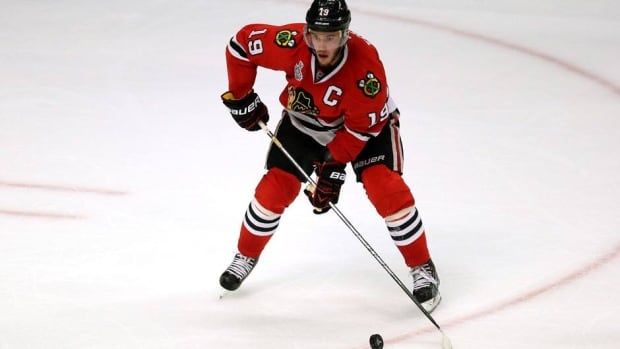 Chicago Blackhawks captain Jonathan Toews won the Conn Smythe Trophy as the MVP of the Stanley Cup playoffs in 2010.