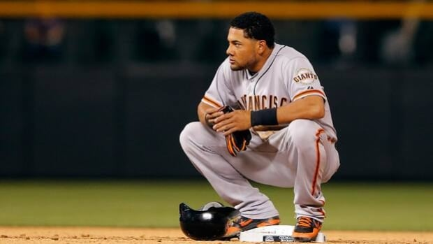 Melky Cabrera was suspended 50 games in 2012 while playing for the San Francisco Giants.