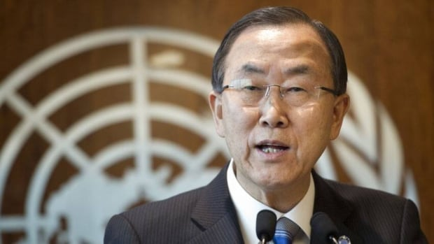 United Nations Secretary-General Ban Ki-moon says the UN will investigate the possible use of chemical weapons in Syria. The UN chief indicated that the investigation would be broader than the Syrian government's request for an independent probe.