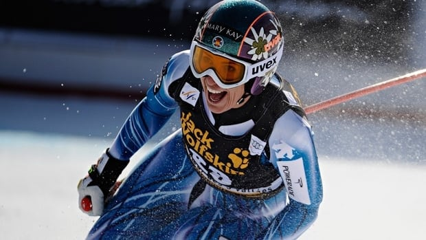 Carolina Ruiz Castillo's only other podium finish was second place in a giant slalom in 2000 at the Italian resort of Sestriere