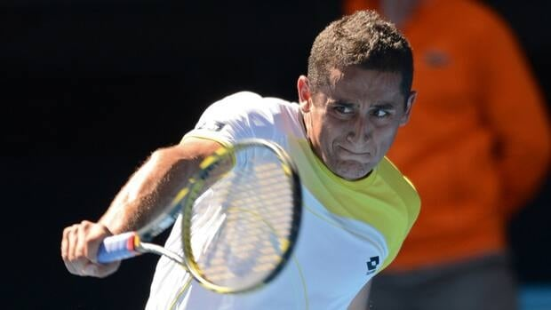 Media reports said Spain's Nicolas Almagro, who reached the quarter-finals of the Australian Open, has a leg injury.