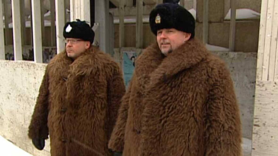 Winnipeg Police Don Historical Buffalo Coats On Beat