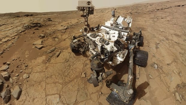 NASA's Mars rover Curiosity is pictured in this February 3, 2013 handout self-portrait obtained by Reuters February 9, 2013. NASA/Reuters