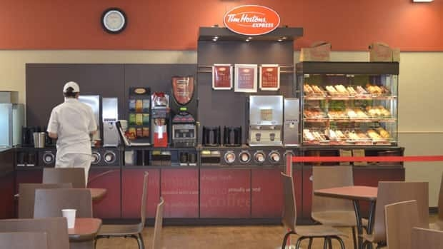 The Tim Hortons coffee chain expanded its reach in Nunavut Monday with the opening of a kiosk in Rankin Inlet.