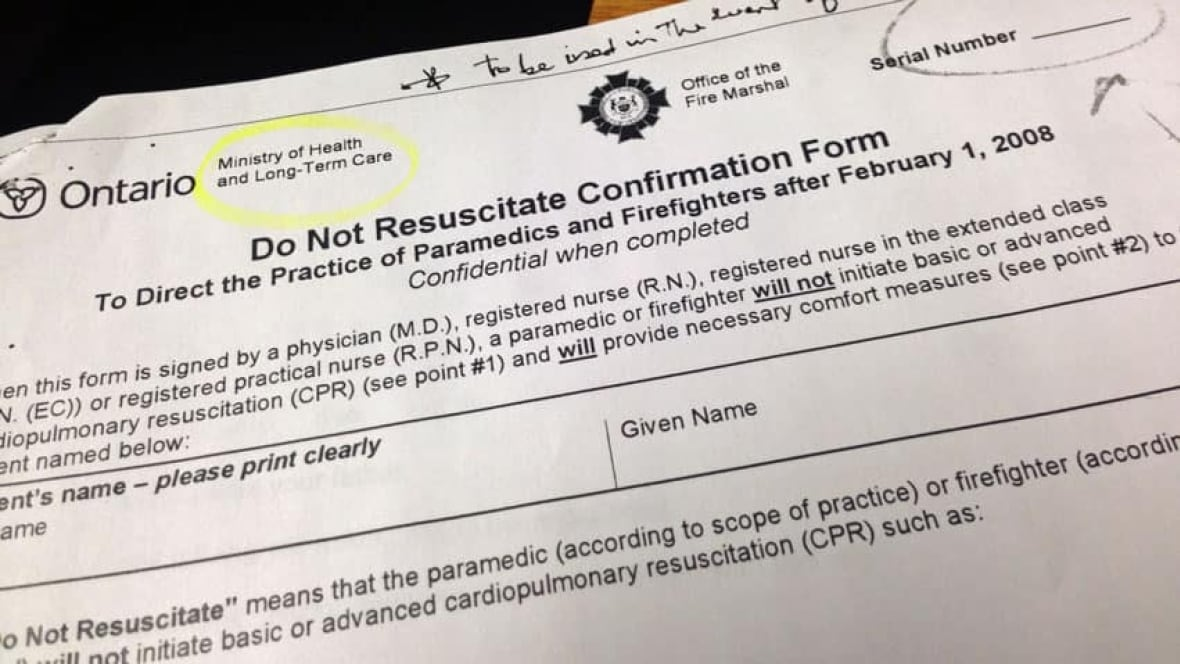 Advance Directives and Do Not Resuscitate Orders